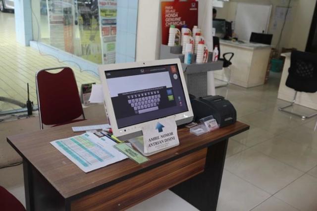 Honda Anugerah Booking Service