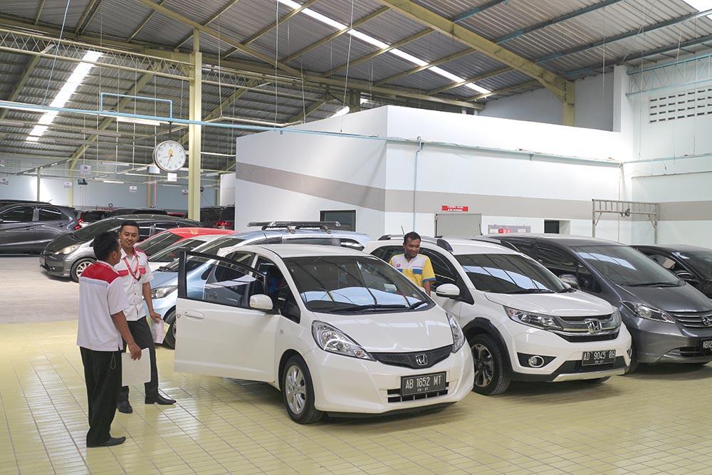 Honda Anugerah Body & Paint Final Check