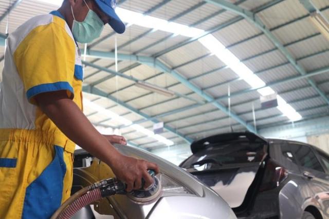 Honda Anugerah Body & Paint - Tahap Poles