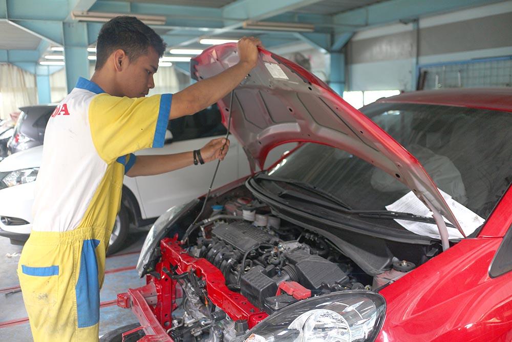 Honda Anugerah Body & Paint - Teknis