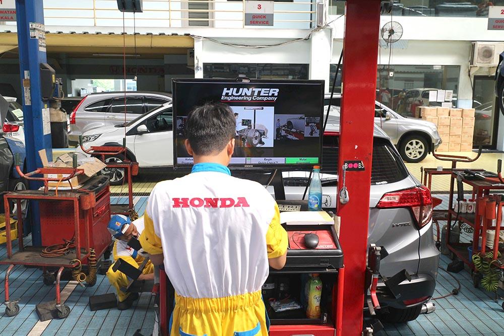 Honda Anugerah Spooring