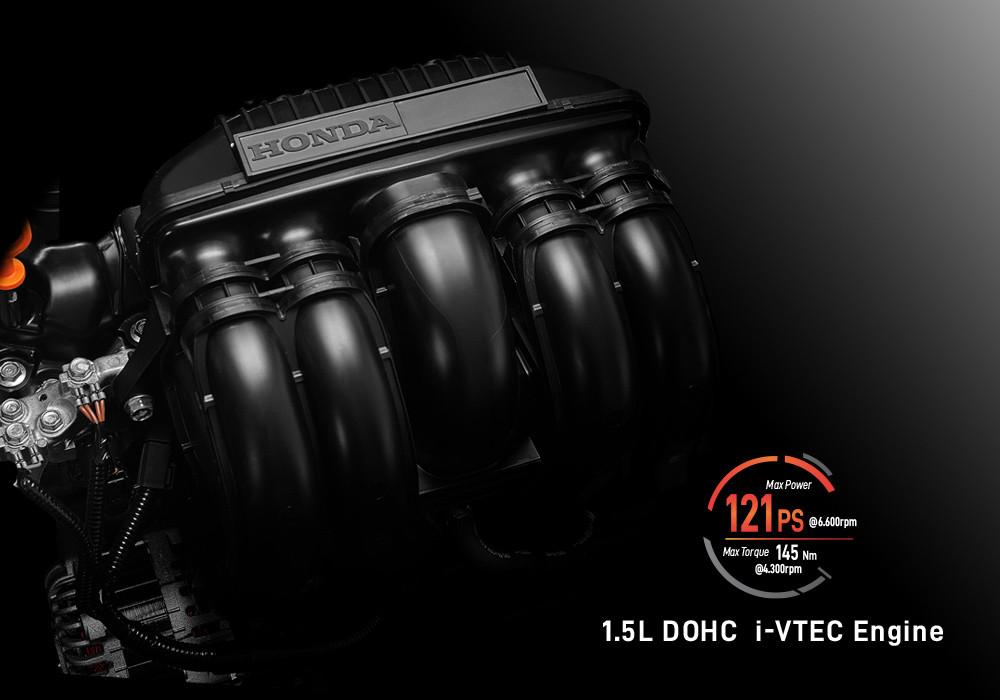 1.5L DOHC i-VTEC Engine